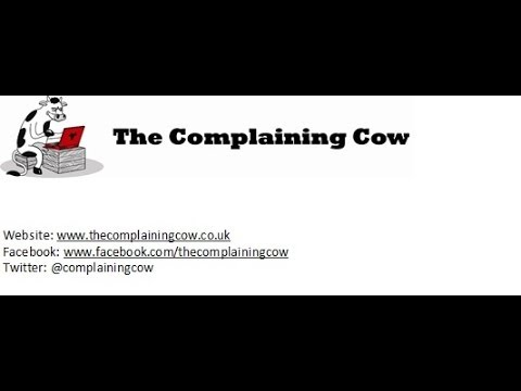 Adrian Goldberg from BBC Radio WM talks to Helen Dewdney The Complaining Cow