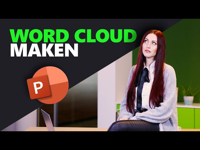 Een word cloud maken in PowerPoint | PowerPoint basics | PPT Solutions