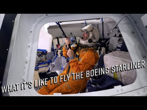 What it's like to fly the Boeing Starliner CST-100 Spaceship