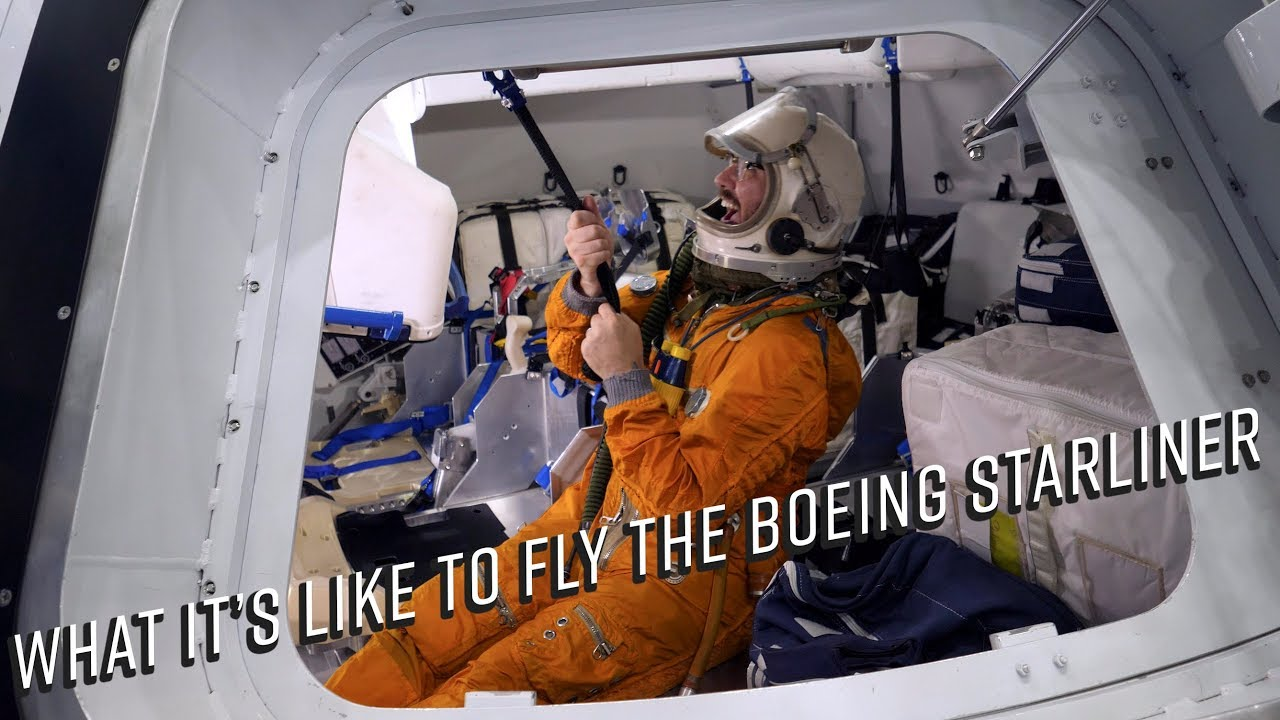 What it's like to fly the Boeing Starliner CST-100 ...