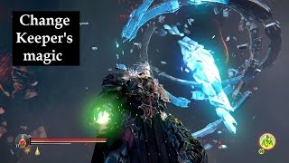 How to manipulate Keeper's magic school Ancient Labyrinth DLC Lords of the Fallen trophy achievement