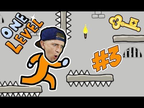 ПОБЕГ ИЗ ТЮРЬМЫ СТИКМЭН в игре One LEVEL #3 Мы ЭТОГО НЕ ОЖИДАЛИ! Сбежали с Тюрьмы! ЛеТсплей от FFGTV
