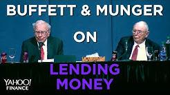 Buffett on affordable housing, lending