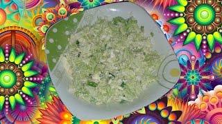 Очень простой и лёгкий салат с пекинской капустой