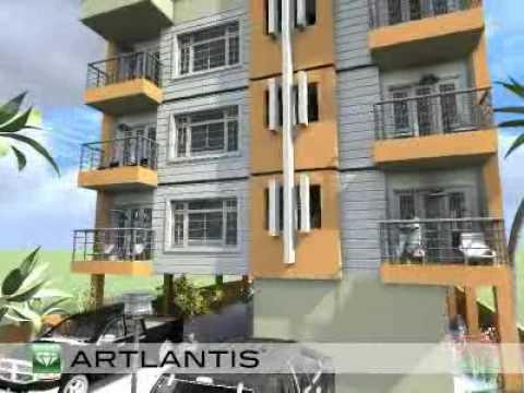Edificio apartamentos 4 youtube for Maquetas de apartamentos modernos