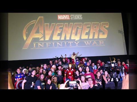 Marvel Studios Avengers Infinity War Red Carpet Fan Event Manila Philippines
