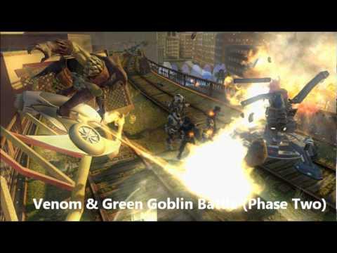 Marvel Ultimate Alliance 2 OST 1120 - Venom & Green Goblin Battle (Phase Two)