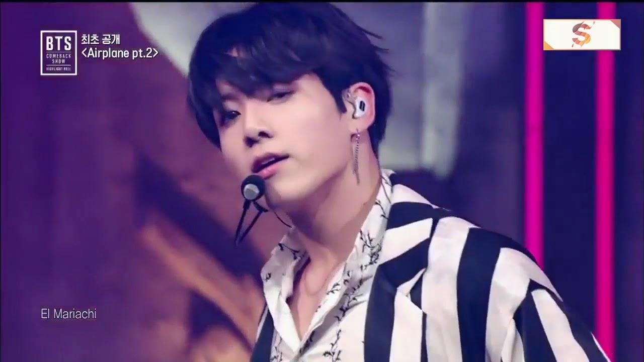 Airplane Pt.2 @ BTS Comeback Show