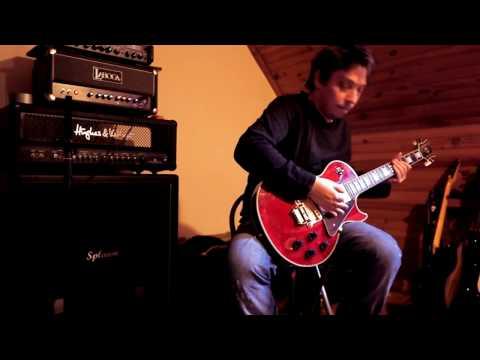 Laboga Caiman 50w head - Splawn 4x12 - Gibson Les Paul Custom