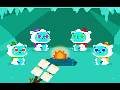 LumiKids Snow - Best IPad Android Game App For Kids. Early Learning Play For Kids