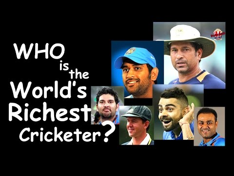 TOP 10 RICHEST CRICKETERS IN THE WORLD | sports News| Popcorn news