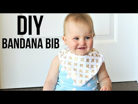 Diy Bandana Bib How To Make A Drool