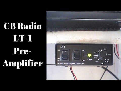 CB RADIO. The LT-1 Pre Amplifier