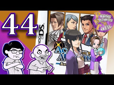 Phoenix Wright: Justice for All, Ep. 44: Bats Man - Press Buttons 'n Talk