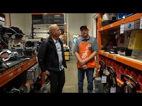 The Home Depot Provides Construction Tools And More | Military Makeover With Montel
