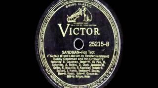 78 RPM: Benny Goodman & his Orchestra - Sandman