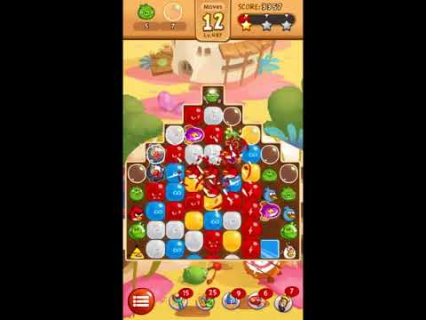 Angry Birds Blast Level 497 - NO BOOSTERS 🎈🐦🎈🐦
