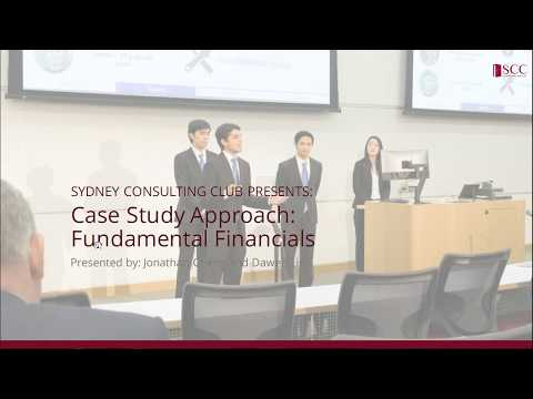 Case Competitions Workshop Series Part 3: Fundamental Financials