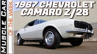 1967 Chevrolet Camaro RS Z28 Muscle Car Of The Week Episode 321