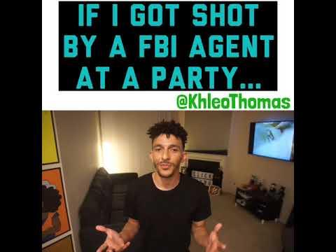 FBI Agent Shoots On Accident