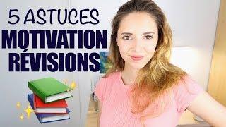 5 ASTUCES : SE MOTIVER À TRAVAILLER | fini la procrastination