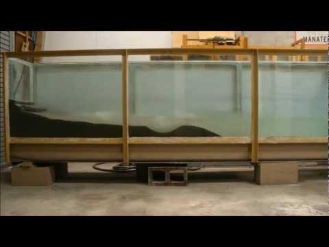 Cross Shore Sediment Transport Time Lapse