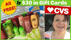 CVS Cash Card Deals, $95 FREE Plus $30 in Gift Cards!