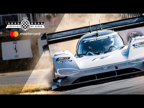 Volkswagen I.D. R smashes electric car record at FOS