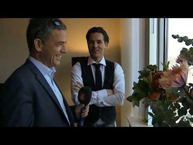 Hemma hos Peter Jöback på Manhattan - Nyhetsmorgon (TV4)