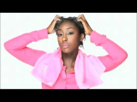 Lusters Triple  Conditioning NoLye Relaxer Viral Video Starring Rachelle Neal