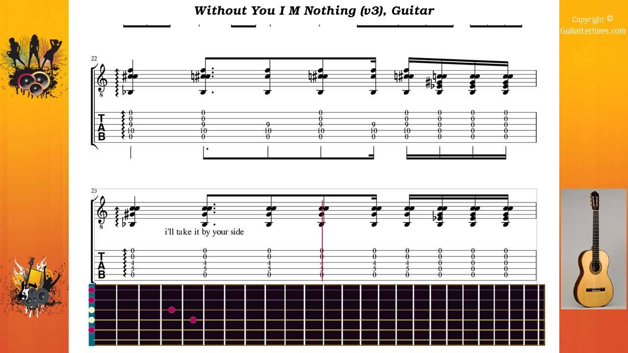 Without You I M Nothing v3 Lacebo Guitar