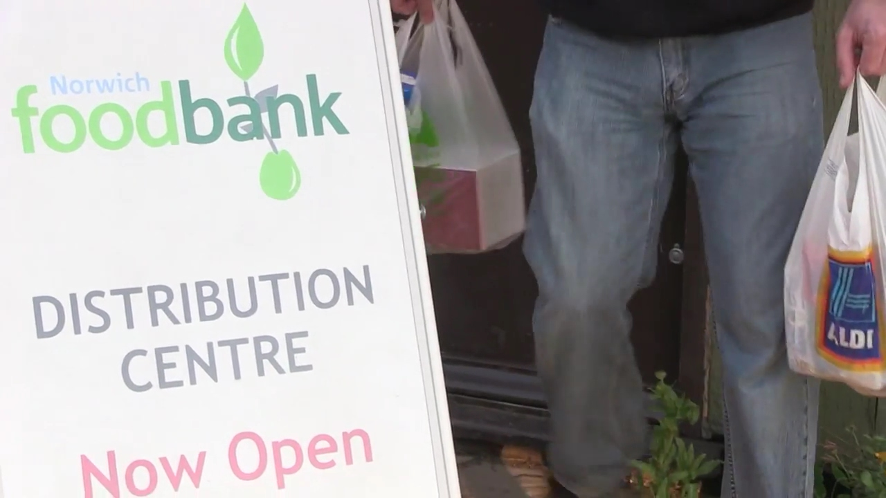 Going Hungry Concern As Norwich Foodbank Reports Rising Demand