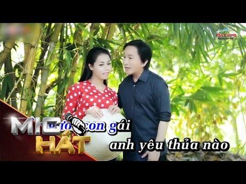 Duyên Thầm | Đinh Thiên Hương ft Kim Tử Long | Karaoke