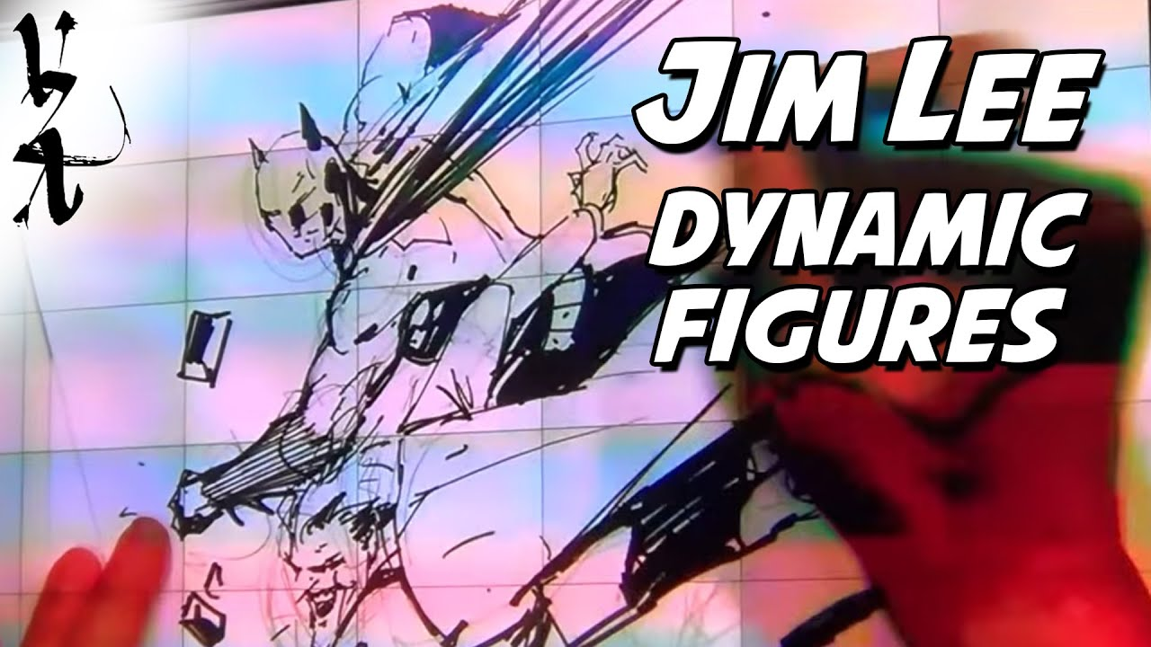 Jim Lee How To Draw Dynamic Figures