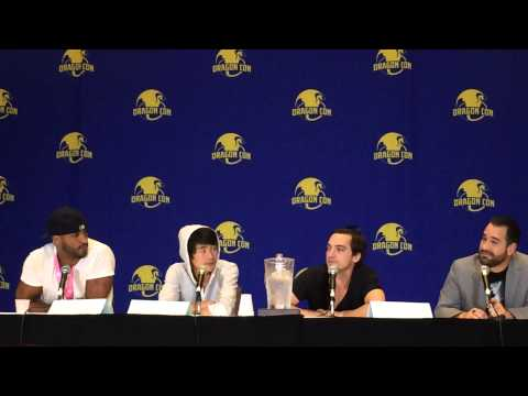Ship for Monty and Murphy? Christopher Larkin & Richard Murphy answer at The 100 panel at Dragoncon