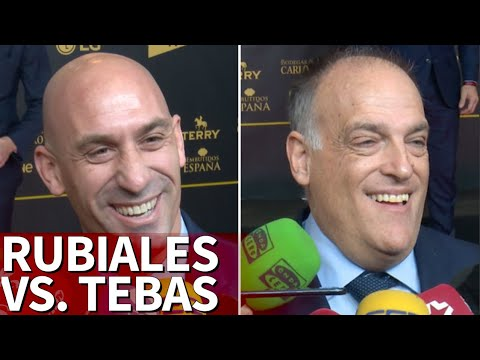 El cruce de declaraciones entre Javier Tebas y Luis Rubiales | Diario AS