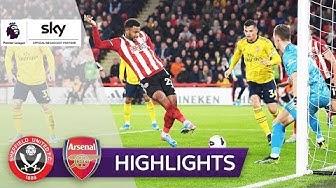 Sensation! Aufsteiger schlägt Gunners | Sheffield United - Arsenal 1:0 | Highlights - Premier League
