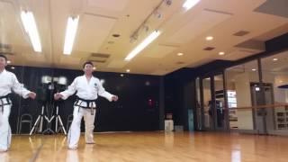 ITF Taekwon-Do Pattern 을지틀(乙支)/ウルチ・トゥル/Ul-Ji Tul by Master Kim Seong-Deok from ITF-JAPAN 20160514