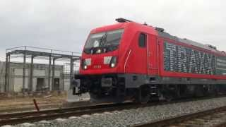 Bombardier Traxx - start and stop the diesel engine
