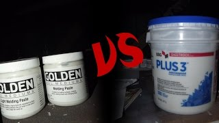Using Joint Compound as Molding Paste