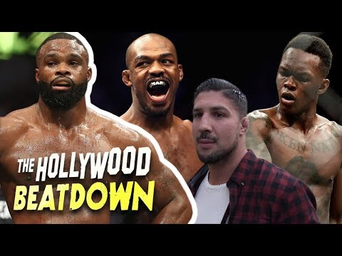 TMZ Sports Claps Back At Brendan Schaub over JonesAdesanya Beef  The Hollywood Beatdown