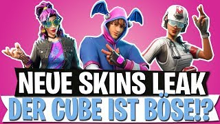 NEW SKINS LEAK | THE CUBE IS EVIL? ALL LADESCREENS | Fortnite Battle Royale