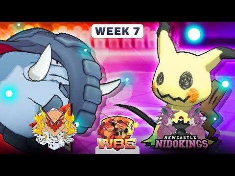 Pokemon Sun & Moon WiFi Battle • Bristol City Blazikens vs Newcastle Nidokings • WBE W7S1