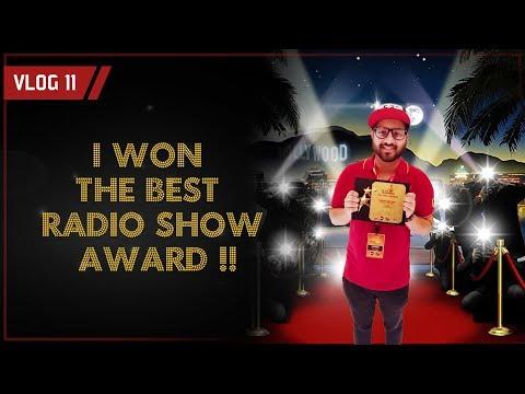 I WON THE BEST RADIO SHOW AWARD! | RJ SYED VLOG 11