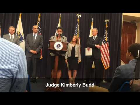 WATCH: Gov. Charlie Baker Introduces His Supreme Judicial Court Nominees