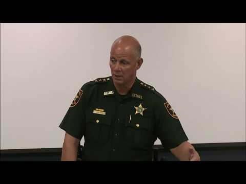 Sheriff's Press Conference 8/25/2017- Deputy Termination/ Homicide Arrest