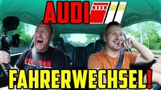 Marco misst ZEITEN! Micha fährt PROBE! - Audi S2 - SPORTWAGEN oder doch KLASSIKER?!