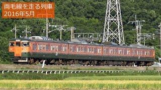 【藤まつり臨時】'16年5月 両毛線を走る列車 @富田―足利間