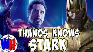 The REAL REASON Why Thanos Knows Tony Stark! | Webhead