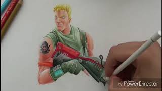 DRAWING FORTNITE SKIN